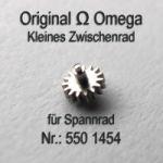 Omega 550-1454, Omega kleines Zwischenrad für Sperrad 550 1454 Cal. 550 551 552 560 561 562 563 564 565 750 751 752