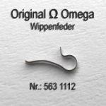 Omega Wippenfeder Omega 563-1112 Cal. 563 564 565 613 750 751 752