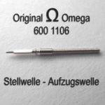 Omega Aufzugswelle Stellwelle Omega 600-1106 Cal. 600 601 602 610 611 Ranft W2794 / W3136