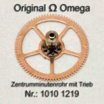 Omega Zentrumminutenrohr 1010-1219 Omega 1010 1219 H1 montiert Cal. 1010 1011 1012 1030 1035