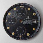 Nr.2 Original Omega Seamaster Professional Chronometer 300m 1000ft (Chronograph) Zifferblatt (Dial) NEU. Kostenloser Versand!