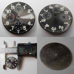 ETA Chronograph Zifferblatt Lagerware in neuwertigen Zustand. Nr.6