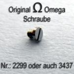 Omega Schraube 2299 Part Nr. Omega 2299 auch Omega 3437