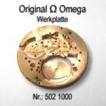 Omega Werkplatte Omega Werkplatine Par Nr. Omega 502-1000 Cal. 502 503 504