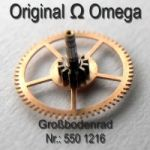 Omega Grossbodenrad Part Nr. Omega 550-1216 Cal. 550 551 552 560 561 562 563 564 565 600 601 602 610 611 613 750 751 752