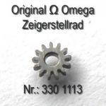 Omega Zeigerstellrad Part Nr. Omega 330-1113 Cal.  330 bis 372 410 420 470 471 490 491 500 501 502 503 504 505 510 511 520