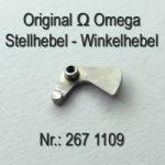 Omega Stellhebel - Omega Winkelhebel Part Nr. Omega 267-1109 Cal. 267 268 269 284 285 286