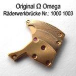 Omega 1000-1003 Omega Räderwerkbrücke Cal. 1000 1001 1002