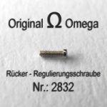 OMEGA 2832 Rücker - Regulierungsschraube Part Nr.: 2832