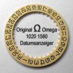 Omega 1020-1580 Datumanzeiger (Datumscheibe - Datumsring) Omega 1020 1580 Cal. 1020 1021 1022