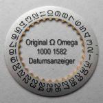 Omega 1000-1582A Omega Datumanzeiger gewölbt, Neuware, Omega 1000 1582 Cal. 1000 1001 1002