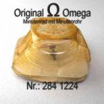 Omega Minutenrad mit Minutenrohr 284-1224 Omega 284 1224 5,65mm Cal. 284 285 286 30SCT4 30SCT5 30SCT6
