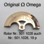 Omega Rotor  Part Nr. Omega 501-1026 19 p Cal. 501 503