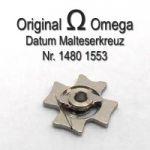 Omega Datum Malteserkreuz Part Nr. Omega 1480-1553 Cal. 1480 1481