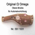 Omega Obere Brücke für Automatvorrichtung Part Nr. Omega 551-1031 Cal.  551 552 (560) 561 562 (563) 564 565 (750) 751 752 (550)