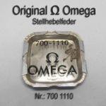 Omega Stellhebelfeder Part Nr. Omega 700-1110 Cal. 700