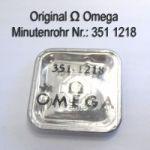 Omega Minutenrohr Höhe 3,28 mm Part Nr. Omega 351-1218 Cal. 351 352 354