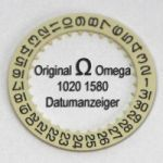 Omega Datumanzeiger Omega 1020-1580 mit schwarzen Ziffern Cal. 1020 1021 1022 (NR 02)