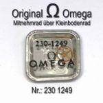 Omega Mitnehmrad 230-1249 über Kleinbodenrad Omega 230 1249 Cal. 230 231