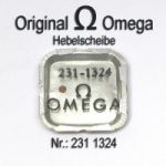 Omega Hebelscheibe Omega 231-1324 mit Hebelstein Cal 231