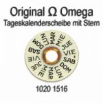 Omega 1020-1516 Omega Tageskalenderscheibe mit Stern Omega 1020 1516 (04) Cal. 1020 1021 1022