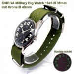 Omega Military Jumbo, Ø38mm 1946, mechanisch in TOP Zustand!