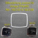 Omega Glasdichtung / Omega Gehäusedichtung für Ref.: 166.0187 und Ref.: 166.0189