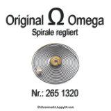 Omega 265 1320 Omega Spirale regliert, Omega Bgreguet Spirale für Cal. 265 266 267 268 283 284 285