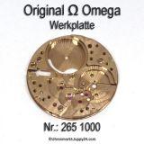 Omega 265 1000 Omega Werkplatte, Omega Werkplatine Cal. 265