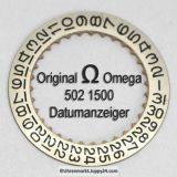 Omega 502 1500 Omega Datumanzeiger Cal. 502 503 504 (01)