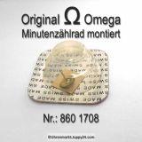 Omega Minutenzählrad montier Omega 860-1708 Cal. 860 861 910 930