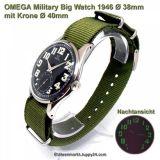 Omega Military Big Watch, Ø38mm 1946, mechanisch in TOP Zustand!