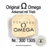 Omega 300-1305 Omega Ankerrad mit Trieb Omega 300 1305 Cal. 300, 301, 302, 310, 311, R 17.8