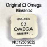 Omega 1250-9035, Klinkenrad 1250 9035 Cal. 1250 1255 1260