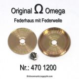 Omega 470-1200 Federhaus Omega 470 1200 Cal. 470, 471, 490, 491, 500, 501, 502, 503, 504, 505