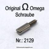 Omega  2129 Schraube für Zifferblatt Part Nr. Omega 2129