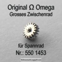 Omega Grosses Zwischenrad für Sperrad Part Nr. Omega 550 1453 Cal. 550 551 552 560 561 562 563 564 565 750 751