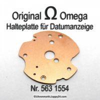 Omega 563-1554 Halteplatte für Datumsanzeiger Omega 563 1554 Cal. 563 564 565 750 751 752