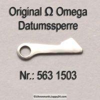 Omega 563-1503 Omega Datumsperre, Omega 563 1503 Cal. 563 564 565 613 750 751 752