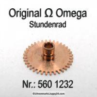 Omega Stundenrad 560-1232 H1 Höhe 1,83 mm Omega 560 1232 Cal. 560 561 562 563 564 565 610 611 613