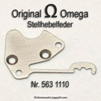 Omega Stellhebelfeder Omega 563-1110 Omega Winkelhebelfeder Cal. 563 564 565 613 750 751 752