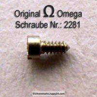 Omega Zifferblattschraube 2284 Part Nr. Omega 2284