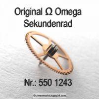 Omega Sekundenrad Part Nr. Omega 550-1243 Cal. 550 551 552 560 561 562 563 564 565 600 601 602 610 611 613 750 751 752