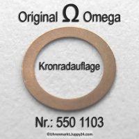 Omega Kronradauflage Omega 550-1103 Cal. 550 551 552 560 561 562 563 564 565 600 601 602 610 611 613 750 751 752