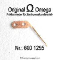 Omega 600-1255 Friktionsfeder für Zentrumsekundentrieb Omega 600 1255 Cal. 600, 601, 602, 610, 613