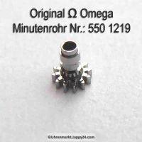 Omega Minutenrohr 550-1219 Omega 550 1219 H1 Höhe 2,20 mm Cal. 550 551 552 600 601 602