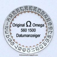 Omega Datumanzeiger mit Druckbild Omega 560-1500 Cal. 560 561 562 610 611 613