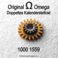 Omega Doppeltes Kalenderstellrad Part Nr. Omega 1000-1559 Cal. 1000 1001 1002 1010 1011 1012 1020 1021 1022 1030