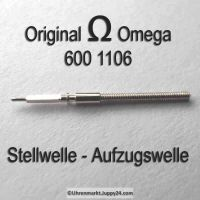 Omega Aufzugswelle Stellwelle Part Nr. Omega 600 1106 Cal. 600 601 602 610 611 Ranft W2794 / W3136
