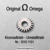 Omega Kronradtrieb Omega Umstelltrieb Omega 1010-1151 Cal. 1010 1011 1012 1020 1021 1022 1030 1035